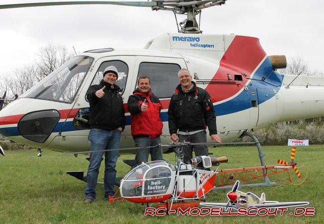 Kräftemessen GROSS vs. KLEIN: Wer siegt beim Kampf Hubschrauber gegen Hubschrauber?