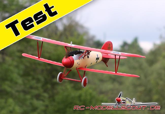 Test & Video: Jagdflugzeug PARKZONE Albatros D.Va von HORIZON HOBBY