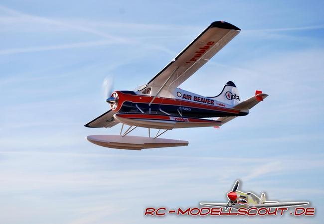 Wasser unter Strom: Wasserflugmodell AIR BEAVER von robbe Modellsport