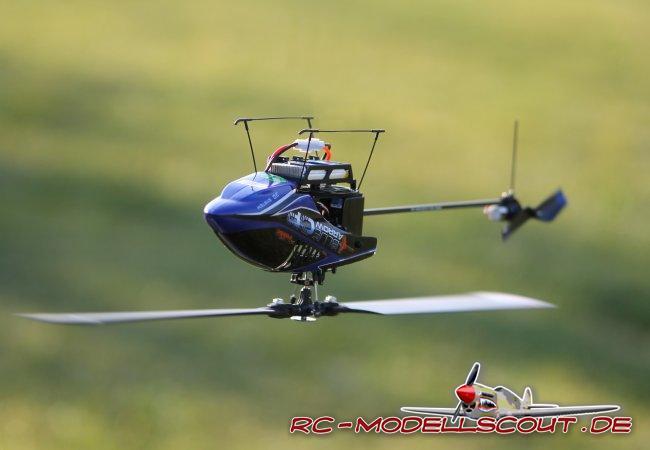 Test: 3D-Micro-Heli Blue Arrow CP von robbe Modellsport