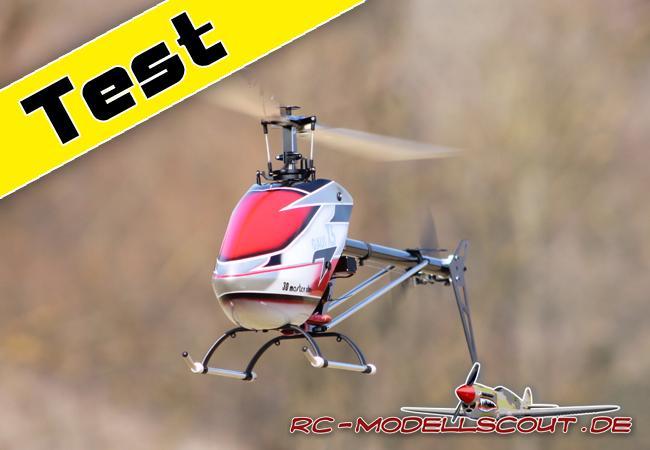 Test: GAUI X5 3D Flybarless im Vertrieb von Conrad Electronic überzeugt durch Qualität und Leistung