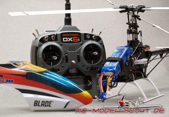Test: E-Flite Blade 450 3D von Horizon Hobby