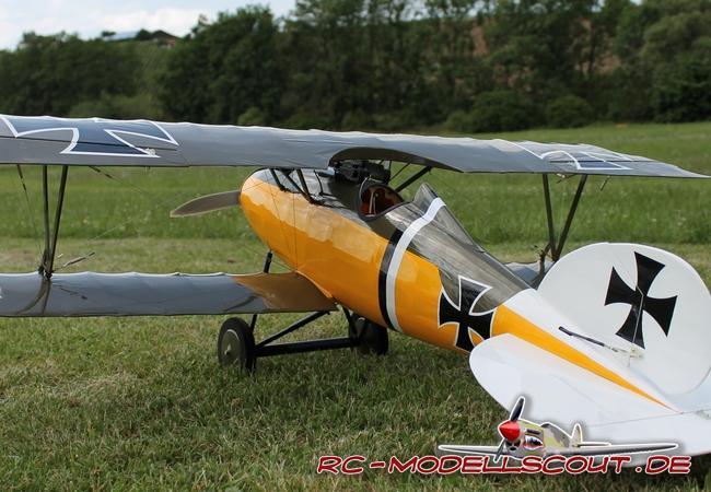 Test & Video: Jagdflugzeug ALBATROS D.V von robbe Modellsport