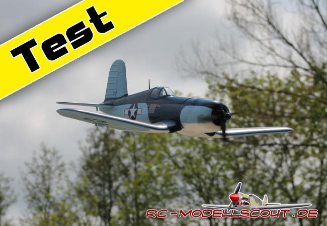 Test: Chance-Vought F4U-1A CORSAIR von NICESKY