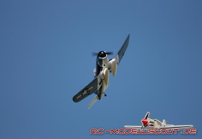So viel Warbird steckt in der neuen PARKZONE F4U-1A CORSAIR von HORIZON HOBBY
