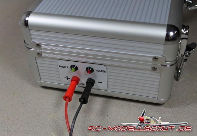 "Test: Aluminium Lipo-Heizkoffer ""Heater-Box"" von robbe Modellsport"